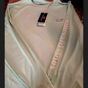 Vineyard Vines Performance Long Sleeve Shirt NWT